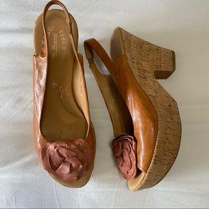 Kork-ease irene brown heels 8/39